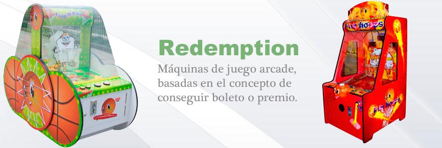 Máquinas Redemption